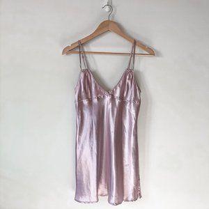 La Senza Satin Silky Purple Nightie Slip Dress